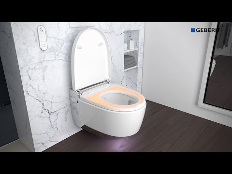Geberit Aquaclean mera comfort wandcloset douche wc wit