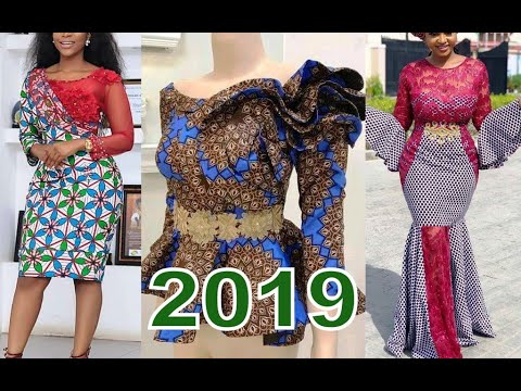 African Clothing 2019  : Elegant Ankara And Aso Ebi Styles Collection