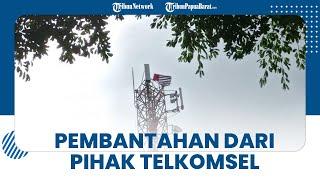 Pihak Telkomsel Bantah Towernya Menjadi Tempat Pengibaran Bendera Bintang Kejora di Manokwari