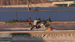 GTA 5 - Массовые драки (мод)
