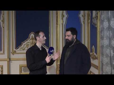 Bülent İnal-Abdülhamid-Payitaht Abdülhamid Setinde Kudüs Mikrofonu Röportaj