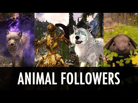 Skyrim PS4 Mods: Summon Followers Horse - смотреть онлайн на