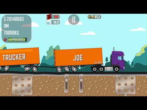 Trucker Joe is transporting steel to the engineering plant