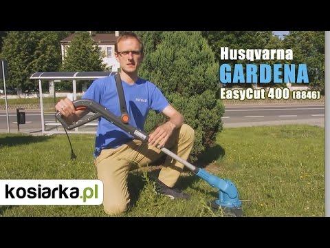 Podkaszarka GARDENA EasyCut 400 (8846) - główne zalety + praca w terenie
