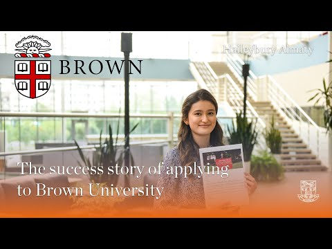 Please watch the success story of applying to Brown University