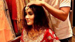 Indian Wedding Dress, Jewellery &  Makeup Look For A Beautiful Bride