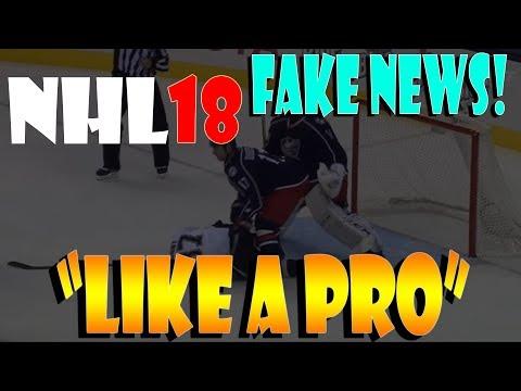 NHL 18 FAKE NEWS!