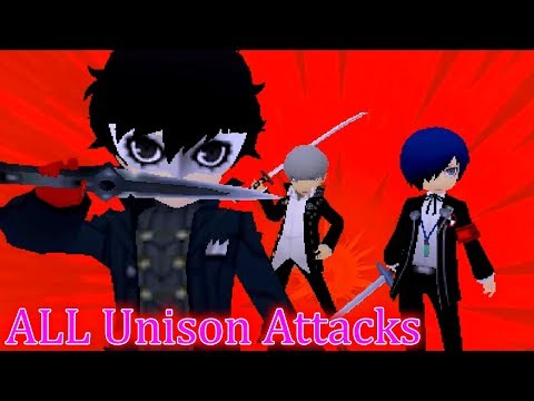 All Team Introduction Scenes [English Sub] | Persona Q2: New Cinema