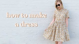 How To Make A Dress | The Rosa Pattern