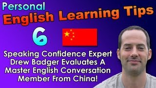 English Speaking & Fluency Tips 6 - English Pronunciation Tips for Chinese Speakers