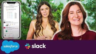 Salesforce and Slack | Meet the Slack-First Customer 360