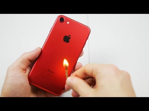 Is the Red iPhone 7 Actually Fire Resistant?