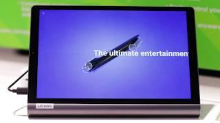 Video 1 of Product Lenovo Yoga Smart Tab Tablet