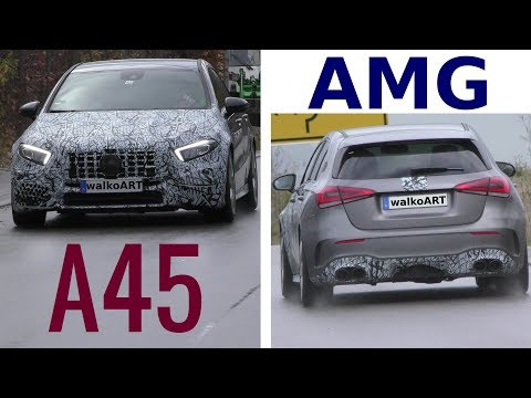 New Mercedes-AMG A45 Hatchback Seen on the Road