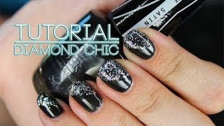 Nail Art Tutorial :: Diamond Chic