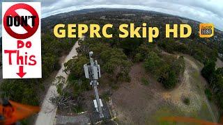 GEPRC SKIP 3 HD - FPV FLIGHT DEMO - MASTERPIECE!!