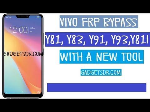 Vivo Y91 Y93 Y83 Y83 Pro (Vivo 1816 )Pattern Unlock  Pin Password