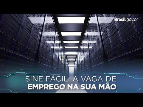 APLICATIVO SINE FÁCIL FACILITA BUSCA POR EMPREGO - VÍDEO