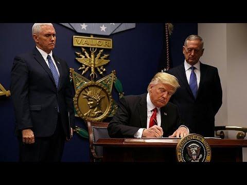 Trump cierra las fronteras a refugiados e inmigrantes de varios países musulmanes
