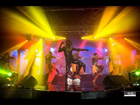 Duncan Mighty, Niniola, Jack Sparrow, Fire Eaters on stage #AtTheClubWithRemyMartin in Owerri