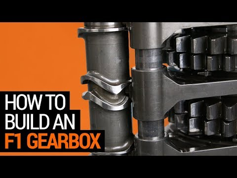 How to Build an F1 Gearbox (and How it Shifts)