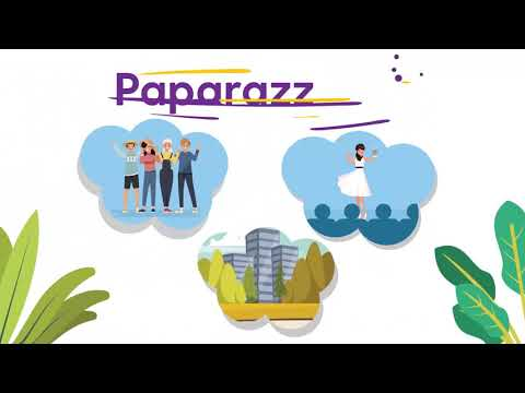 Paparazz Me - Explainer Animated video