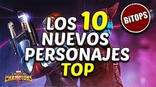 BiTOPS: Los 10 Nuevos Personajes Top - Marvel Contest Of Champions