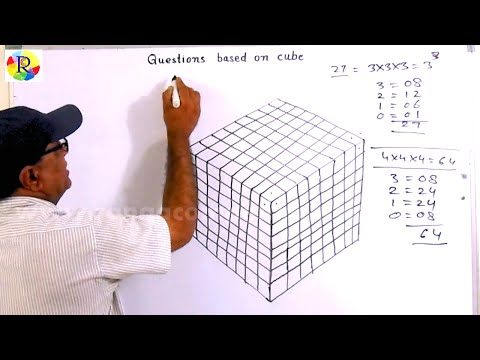 Reasoning Questions Based On Cube (SSC CGL,IBPS&SBI(PO&CLERK)RAILWAY,CPO,LIC Etc.)