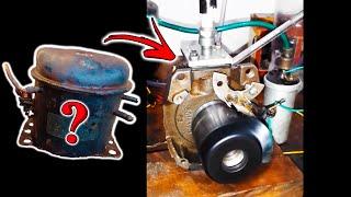 Motor 2 tempos caseiro (como funciona)