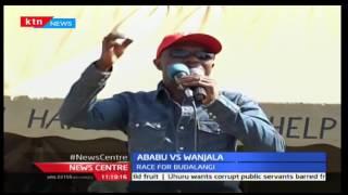 Race for Budalangi is shaping up as Ababu Namwamba and his rival hold several rallies