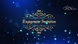 Royal Engagement Invitation - Whatsapp Invitation -  Free Wedding Invitation Template