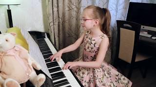 ALEKSEEV - ЧУВСТВУЮ ДУШОЙ -  piano Cover -  Виктория Викторовна 8 лет