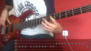 Arctic Monkeys - Settle for a Draw (Bass Cover with TABS!)