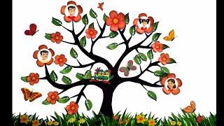 Family Tree/ How To Make Family Tree/ Easy Making Family Tree/ Family Tree Making/ Diy Family Tree