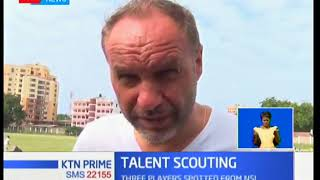 Harambee Stars coach on scouting tour