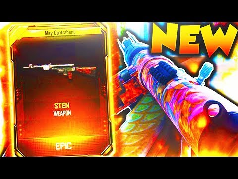 "The STEN DLC WEAPON in Black Ops 3! NEW BLACK OPS 3 ""STEN"" DLC Weapon Gameplay! (BO3 NEW DLC GUN)"
