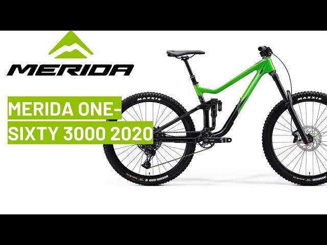 Видео Велосипед Merida One-Sixty 3000 27,5 flashy green/glossy black