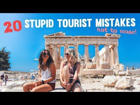 20 Stupid TOURIST MISTAKES not to make