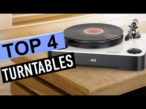 BEST 4: Turntables 2018