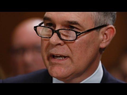 Senate grills Pruitt on environmental issues