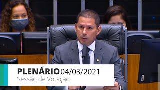 Plenário - Sessão para a votação de propostas legislativas - 04/03/2021 10:00