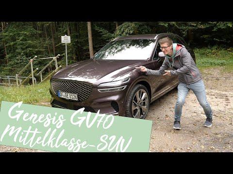 Luxus SUV zum Sparpreis: Genesis GV70 2.2D AWD AT8 [4K] - Autophorie
