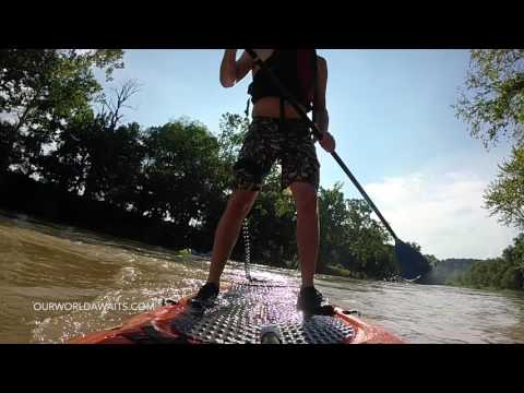 Brutal SUP Review – Whitewater SUP Paddle boards – Jackson Supercharger VS Lifetime Freestyle XL