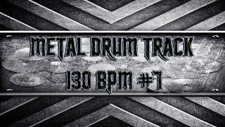 Amon Amarth Style Metal Drum Track 130 BPM (HQ,HD)