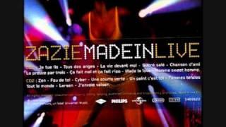 Zazie - Fou de toi (Made in live)