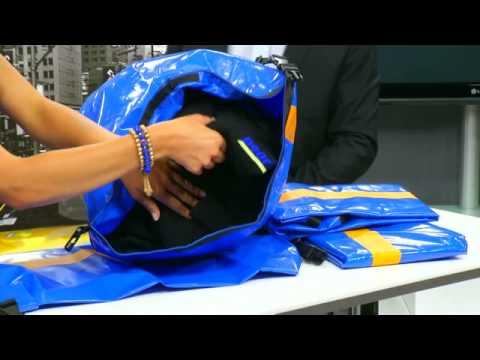 Xcase Wasserdichter Packsack 70 Liter, blau