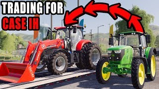 TRADING JOHN DEERE FOR CASE IH MAXXUM | LETS FARM #16 | FS19