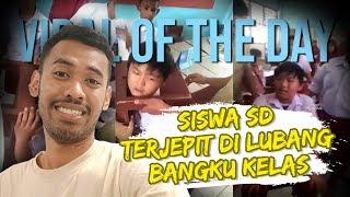 Viral Video Kepala Siswa SD Terjepit di Lubang Kursi, sang Guru: Kamu Udah Kelas Enam Kenapa Begini?