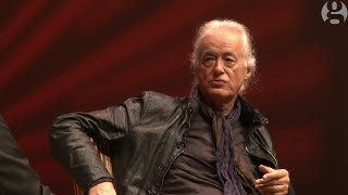 Jimmy Page on guitars, Live Aid and Robert Plant | Guardian Live