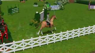 Sims 3 Horse Grand Prix Show Jumping